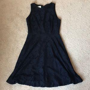 Donna Morgan Navy Lace Dress. size 2.